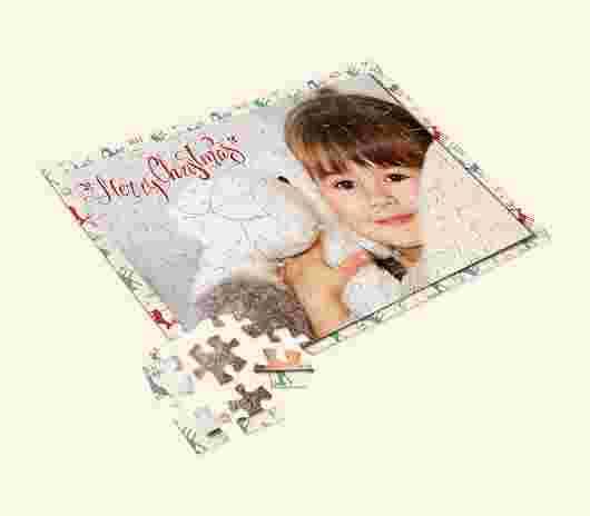 Puzzle Baby 30X20 Natale - PhotoSì
