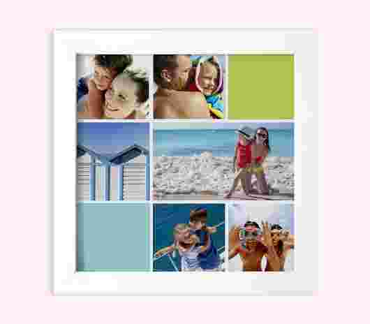 Quadro Frame Matte 30X30 Summer - PhotoSì