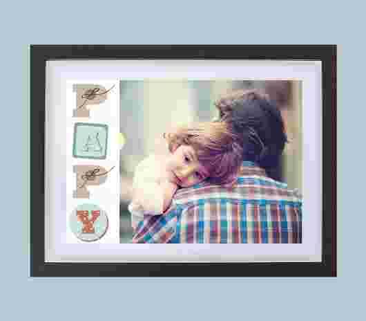 Quadro Frame Matte 30X39 Papy - PhotoSì