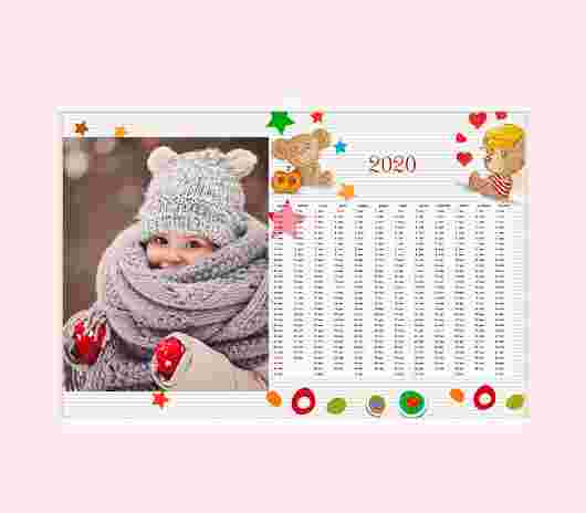 Sweet Bear Annuale 30X20 - PhotoSì