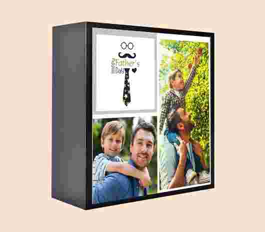 Table Box 13X13 Papà - PhotoSì