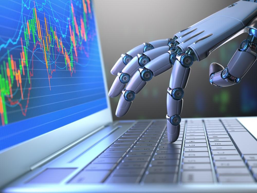 ロボットとパソコン
