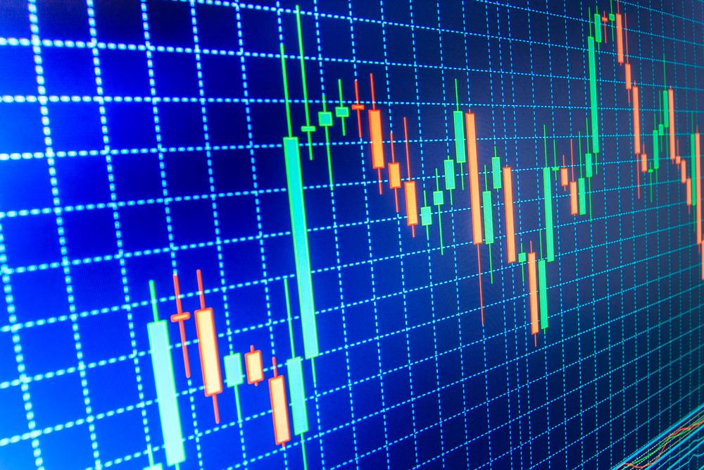 乱高下する為替通貨のチャート