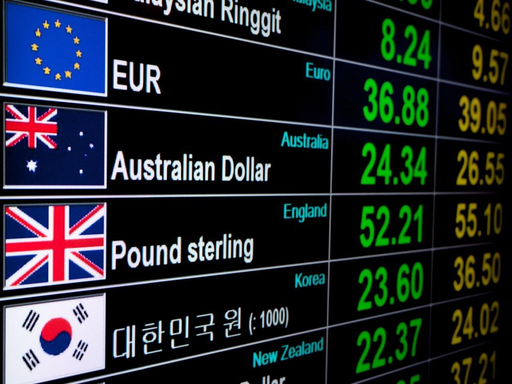 各通貨の掲示板