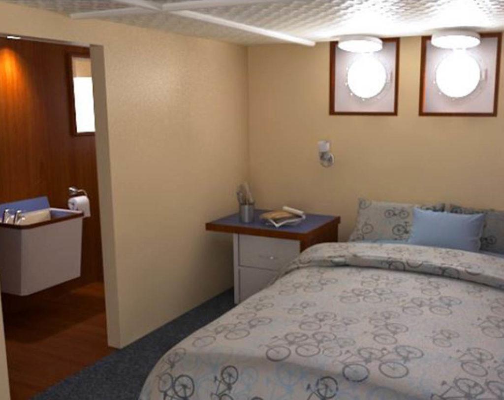 Bedroom cachalote explorer