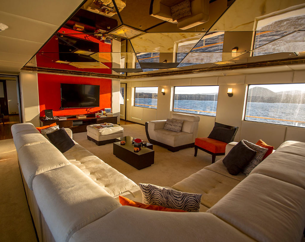 Living room passion cruise