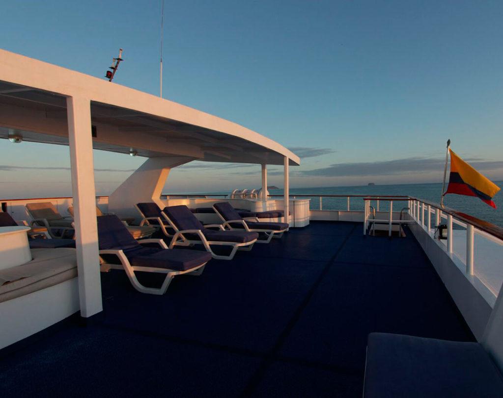 Sun deck millenium