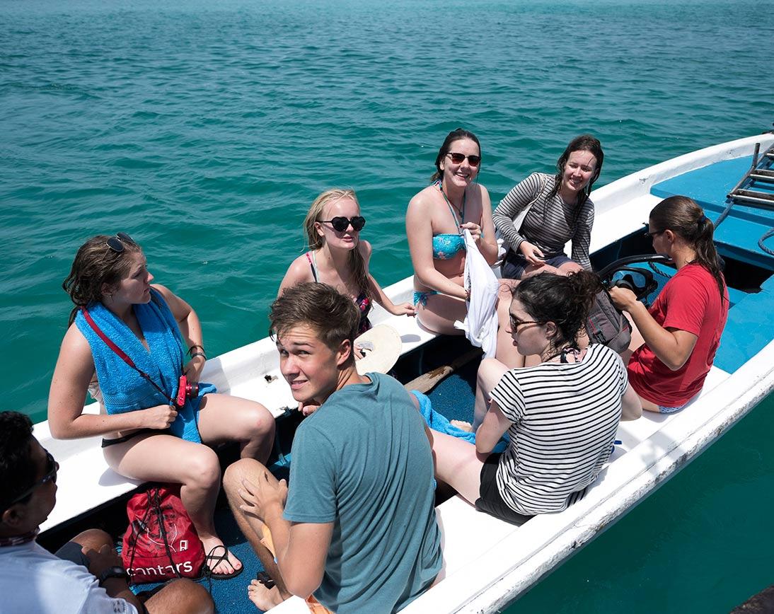 Boat golondrina