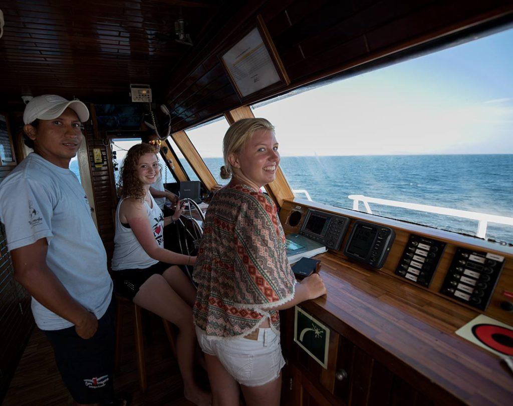 Upper deck fragata