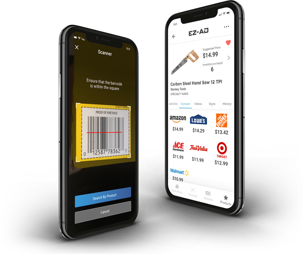 Barcode Scanner App is easy to use and let's you scan any product