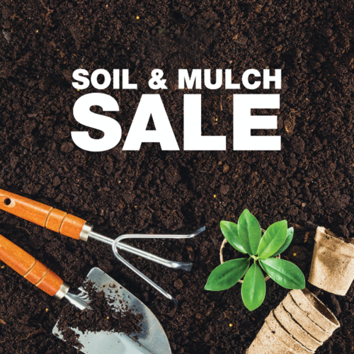 Soil Mulch Sale