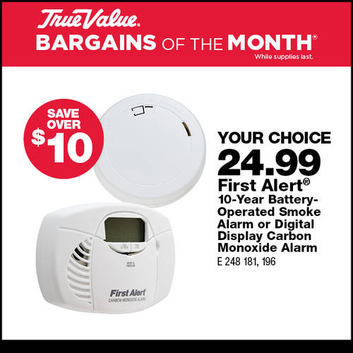 First Alert Smoke and CO2 Detectors