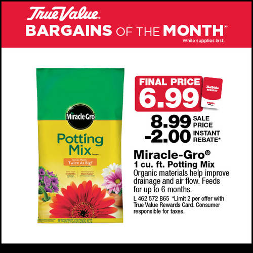 Miracle-Gro Potting Mix R