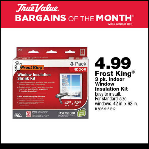Frost King Window Insulation Kit