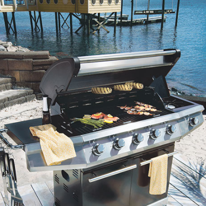 Grills include Weber grills, Traeger, and more. Smokers, grilling accessories, grill cookbooks, charcoal, wood pellets, igrill. We have camping equipment, patio sets, outdoor dining, outdoor lighting, outdoor decor, ice chests, pool chemials, sport equip.