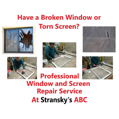 Professional Window and Screen Repair Service Available