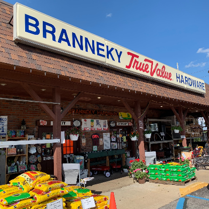 Branneky Hardware; Serving the Community Since 1857