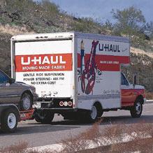 We rent U-Haul