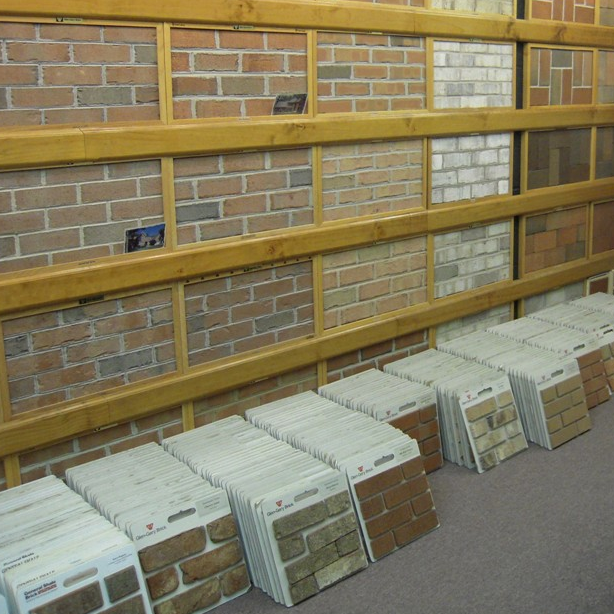 Masonry Showroom for Brick, Stone, Pavers, Block, Mortar