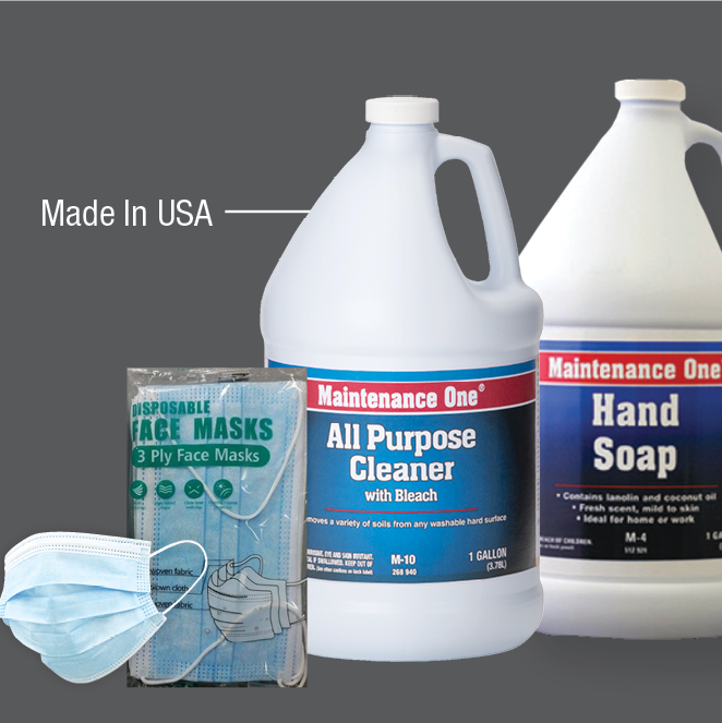 Health and Cleaning Supplies