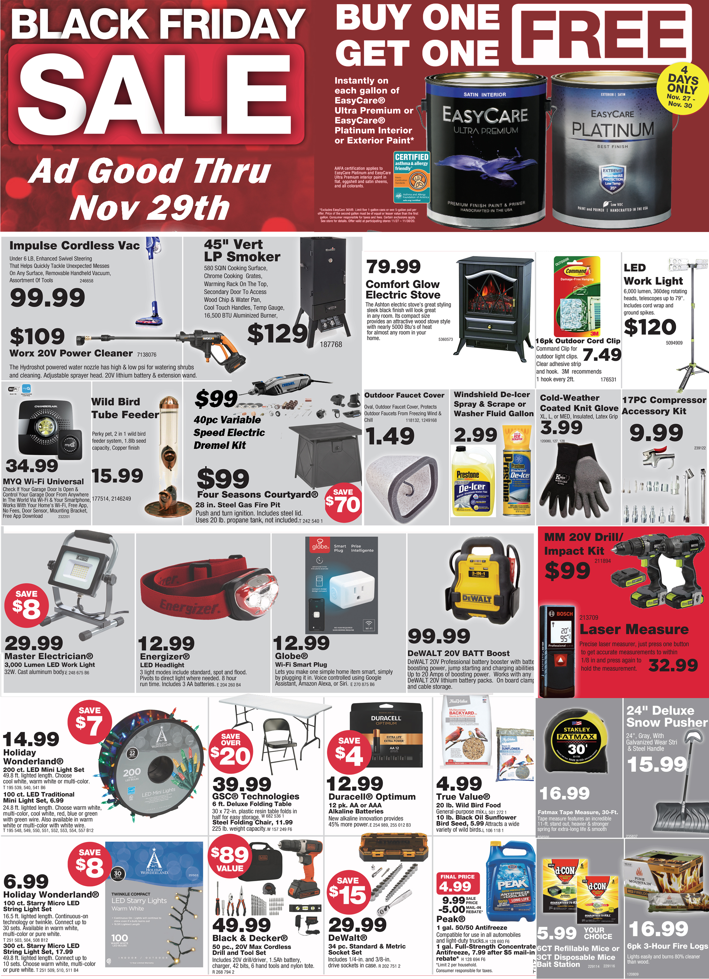 The Season for Giving Great Discounts!