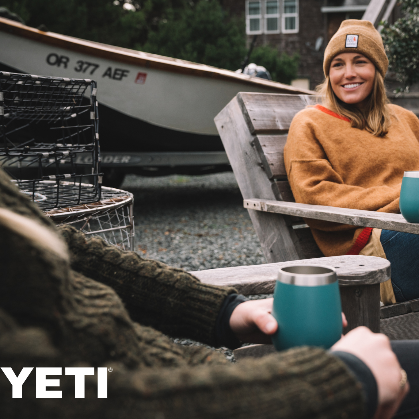 Yeti coolers and drinkware