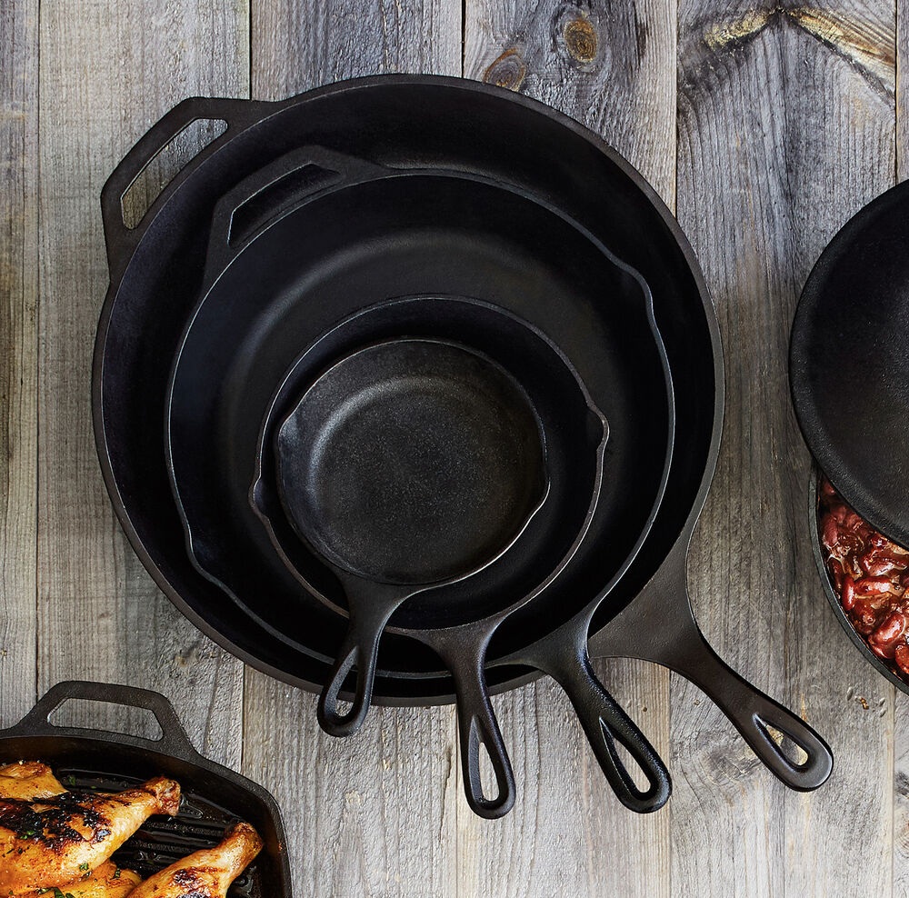 Lodge Cast Iron pots and pans are a timeless gift for the special chief in your life.  These pieces last a life time.