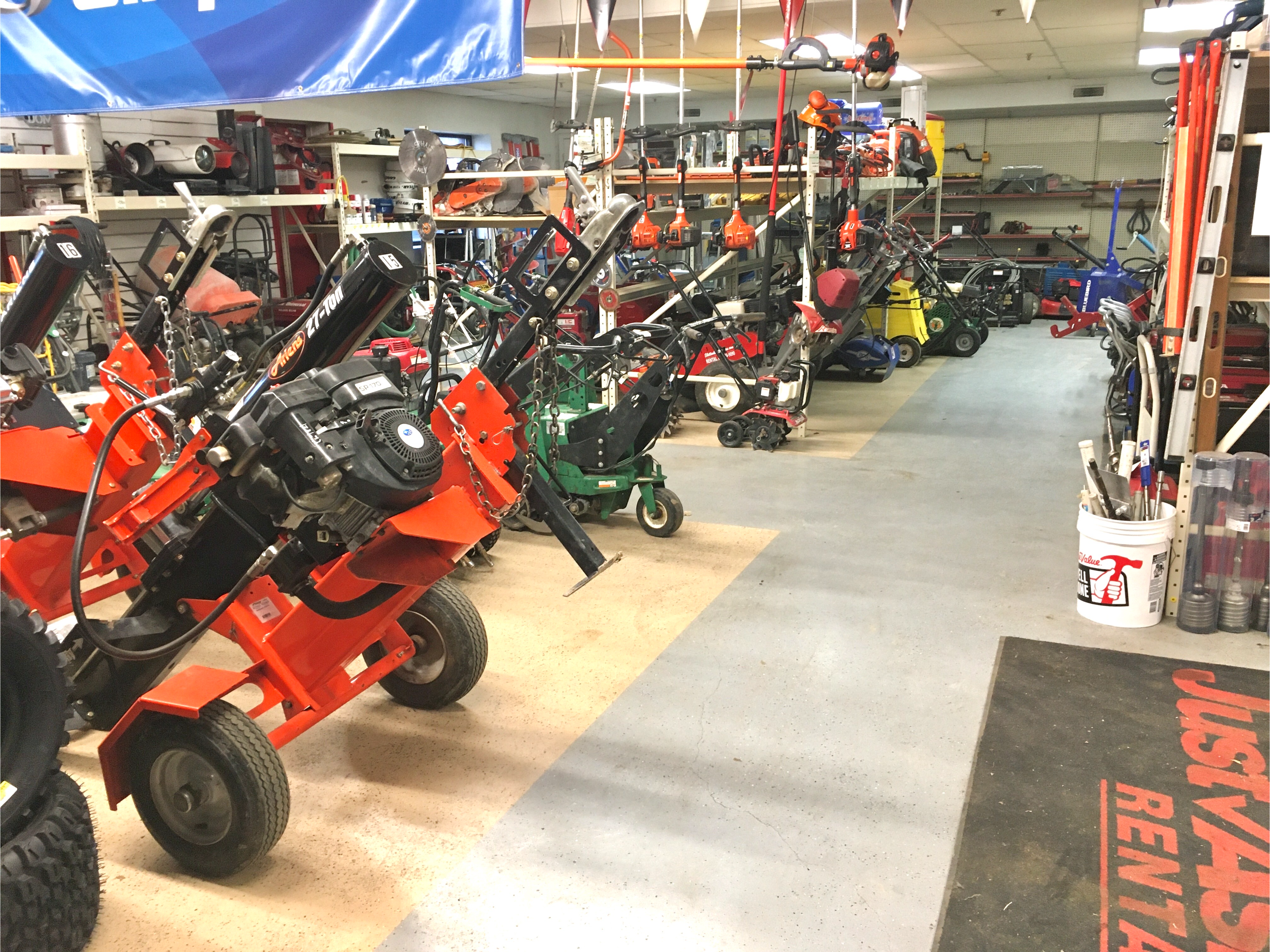 Bloomington's Largest inventory of Rental Equipment