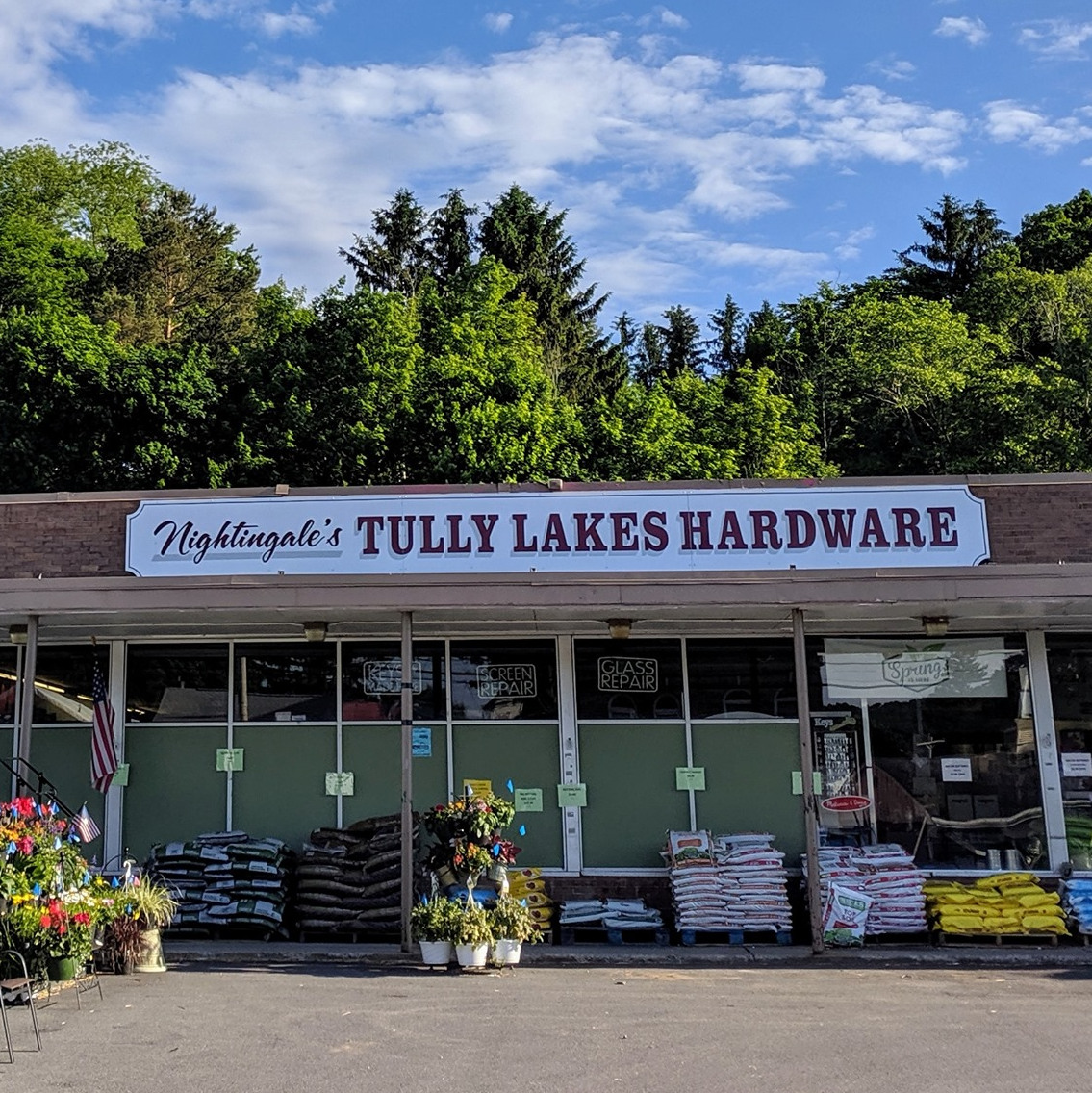 Tully Lakes Hardware storefront