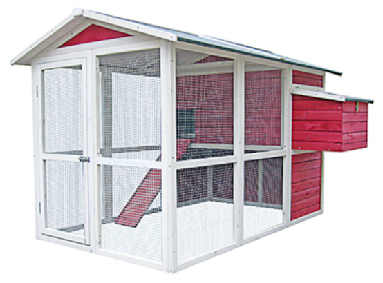 Red Vintage Chicken Coop