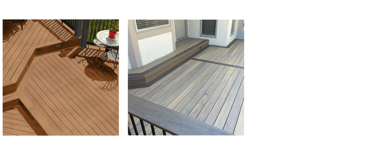 TimberTech Legacy Collection - Available in Ashwood, Pecan, Tigerwood, and Mocha