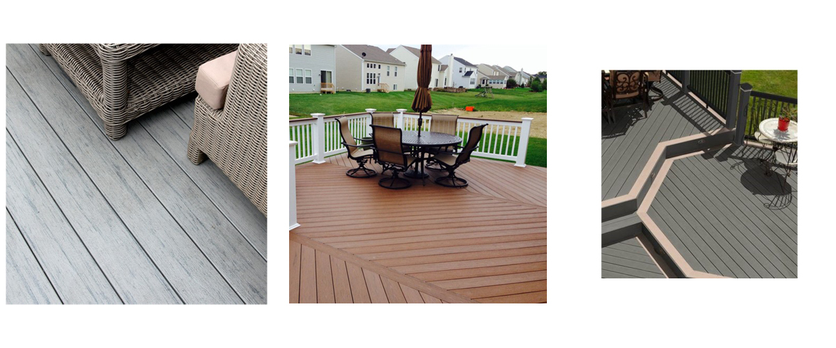 TimberTech Terrain Collection - Available in Silver Maple, Brown Oak, Stone Ash, Sandy Birch, and Rustic Elm