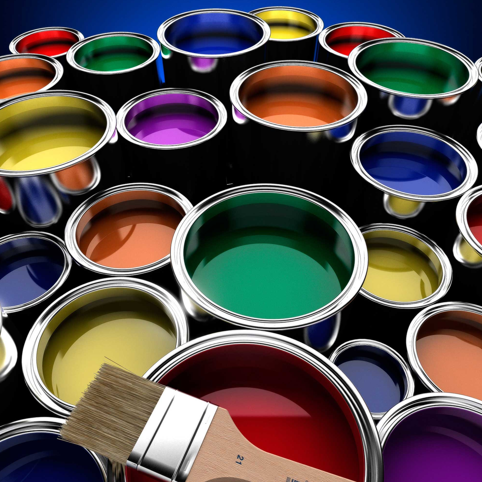 Paint color mixing and matching