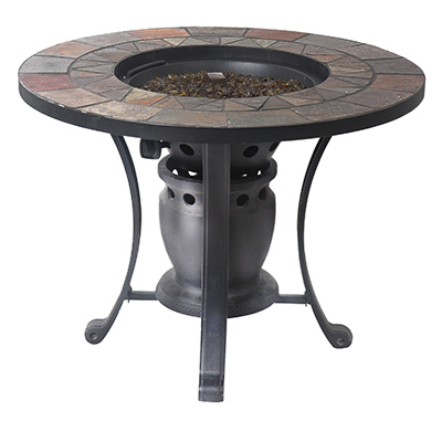 Fire Pit Converts To Bistro Table Gas 28 In Coopers True Value