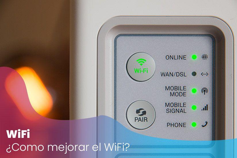 ¿Cómo puedo mejorar mi conexión Wifi?