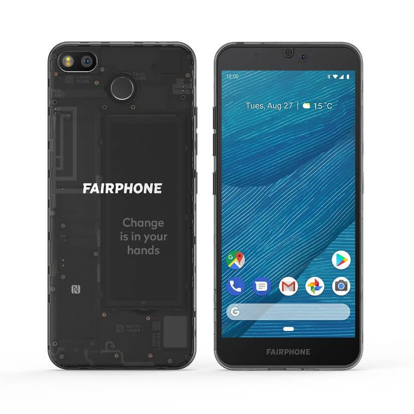 Fairphone 3 Frontal y trasero
