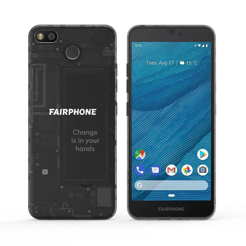 Fairphone 3 Frontal y trasero