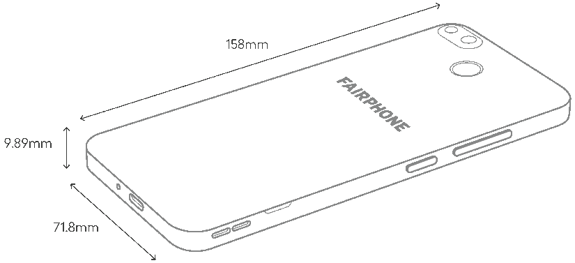 Fairphone 3 especificaciones técnicas