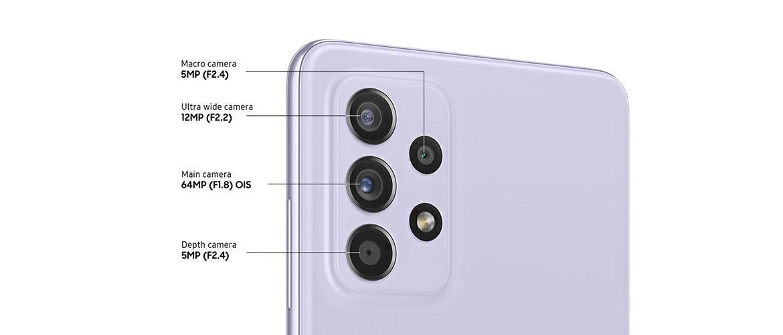 Cámara Samsung Galaxy A52 5G