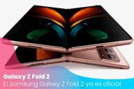 El Samsung Galaxy Z Fold 2 ya es oficial