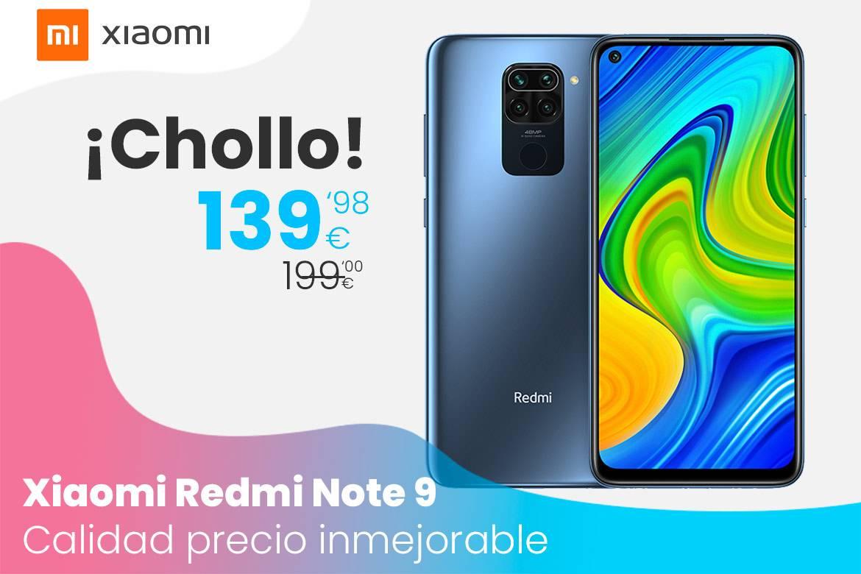 Oferta Xiaomi Redmi Note 9: Calidad precio inmejorable