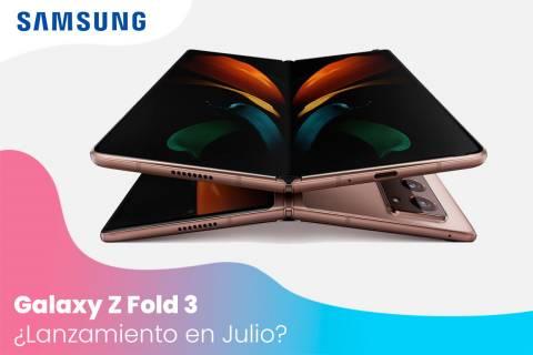 Samsung Galaxy Z Fold 3: los rumores apuntan a un lanzamiento en julio