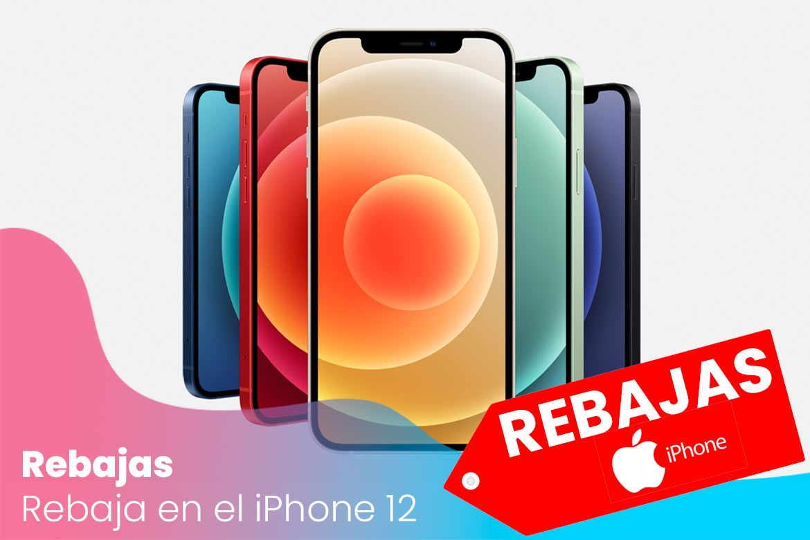 Rebaja en el iPhone 12 con Amazon