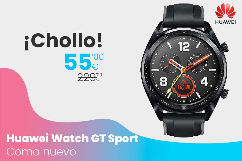 Oferta Huawei Watch GT Sport como nuevo