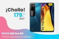 Oferta de lanzamiento del POCO M3 Pro 5G por 179 euros