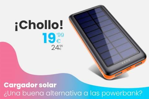 Oferta cargador Solar