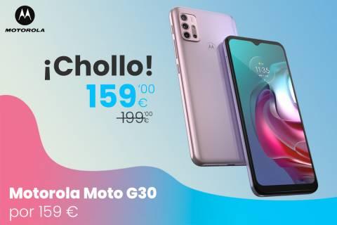 Oferta del Motorola Moto G30 con envío gratis por 159 euros