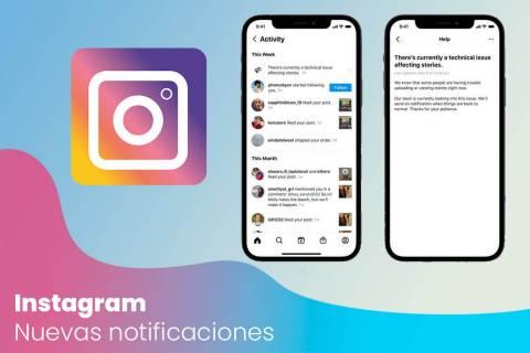 Instagram ahora alertará a sus usuarios en caso de apagón
