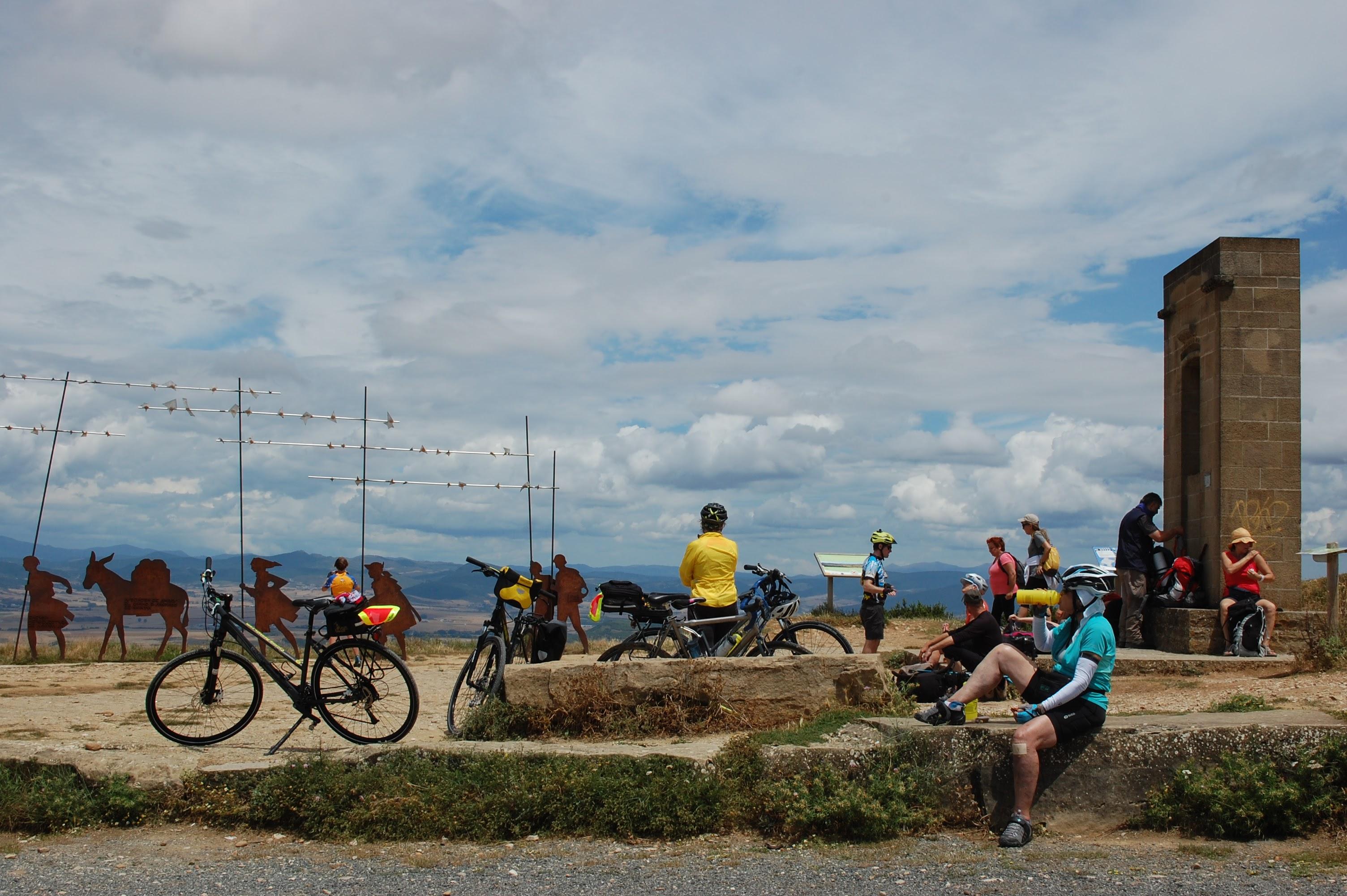 Bike Touring Story - First time cycling in Spain - pamplona camino de santiago