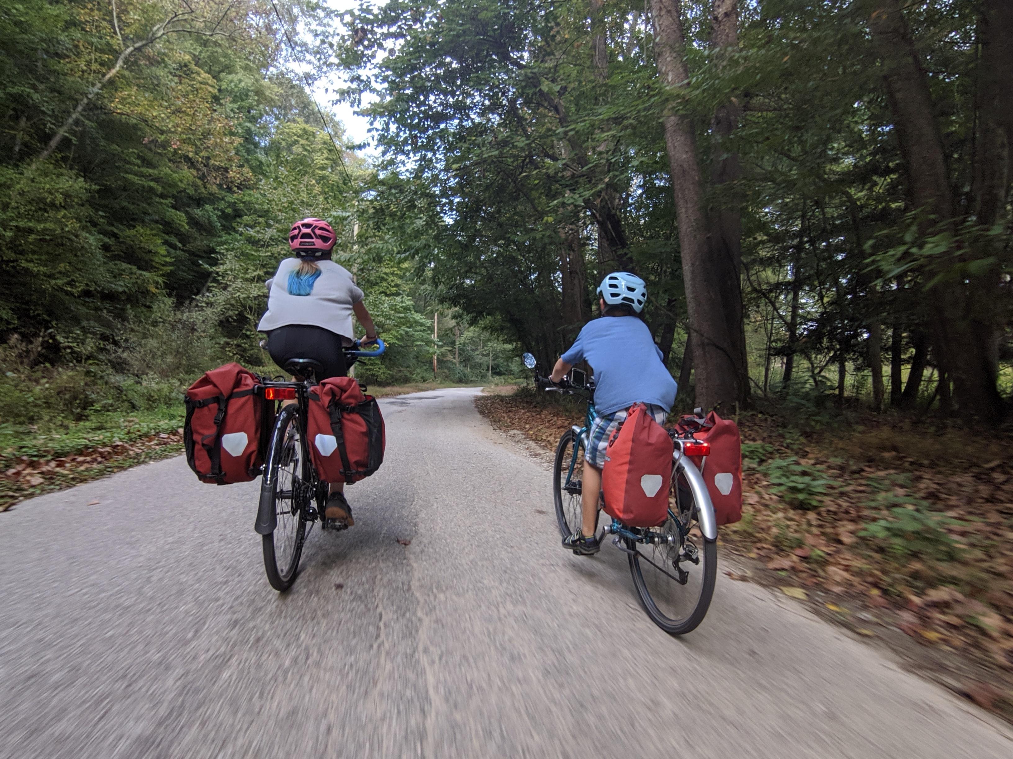 Advanatges of bike touring vs bikepacking